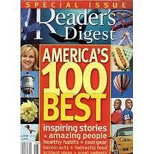 Magazine Reader's Digest May 2006 Special Issue America's 100 Best Ins Stories
