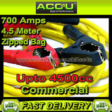 12v Car Van 4x4 4500cc 700 Amp Professional Commercial Booster Cables Jump Leads