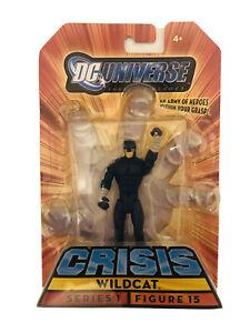 2009 DC Universe Crisis Wildcat Action Figure Series 1 Figure 15