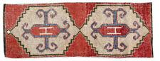 1x3 Oriental Handmade Vintage Traditional Tribal Wool Turkish Rug Area Rug