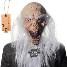 Funny Bald Big Nose Old Man Halloween Latex Masks Party Fancy Dress Costume Prop