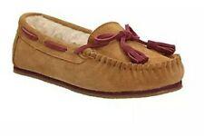 Clarks Eskimo Kiki Cloud  Ladies Sand Suede Moccasin Slippers Size Uk 8 D EU 42.