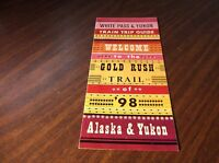 JANUARY 1970 WHITE PASS & YUKON ROUTE SYSTEM MAP AND ROUTE GUIDE ALASKA