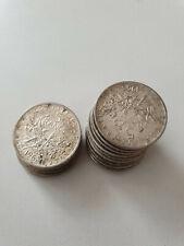 France monnaie Lot de 16 x 5 francs semeuse Argent 1960 à 1964