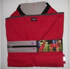 Dickies Workwear Dog Jacket XXX-Large 3XL Red Black Heavy Duty Twill New W/ Tags