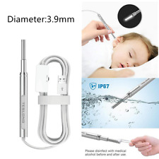 TESLONG NTE390 HD 3.9mm Endoscope Camera Otoscope Ear Cleaner for Android PC Mac