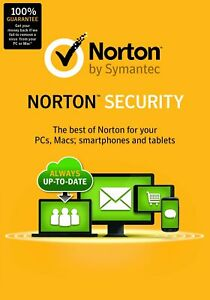 Norton Security Standard for 1-device 1-year - product key code - Internet AV