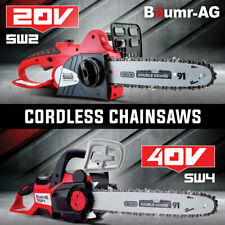 Baumr-AG Cordless Chainsaw 40V / 20V Battery Powered Electric Rechargeable Small