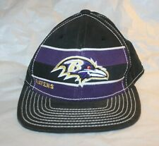 Baltimore Ravens Baseball Cap Hat NFL Reebok Onfield Black Purple