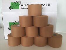 Grass roots 10 Rolls X 50mm X 13.7M, Premium RIGID Sports  Tape,FREE SHIPPING