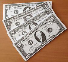 CASINO / VEGAS / POKER NIGHT / PLAY MONEY / FAKE MONEY x 80 Notes