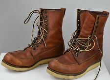 RED WING SHOES  lace-up loafer boots Size 12 D $300