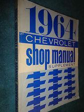 1964 CHEVROLET CAR SHOP MANUAL ORIGINAL BOOK!