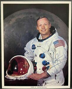 Neil Armstrong Astronaut Autogramm Autograph Apollo 11 Mondlandung