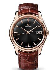 NEW $22980.00 18 k Rose Gold ETERNA watch Vaughan Big Date 42 mm 7630.69.10.1185
