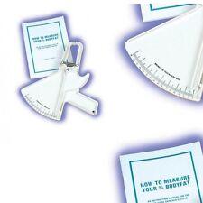 Nuevo hab Essentials Slimguide Pinza con libro-del pliegue cutáneo Calculadora De Grasa Corporal