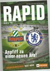 ERÖFFNUNGSSPIEL ALLIANZSTADION MATCH PROGRAMM Rapid Wien - CHELSEA FC 16.07.2016