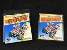 3D Hot Rally -Japanese Famicom Disk System *USA SELLER* Complete!