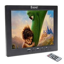 """8 """"HD IPS LCD Video Audio VGA HDMI BNC USB Monitor MP5 Player per DVR PC CCTV"""