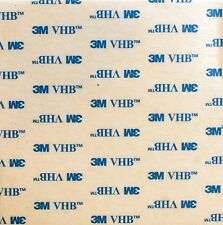 WHITE - 0.8mm Thick - 3M VHB Acrylic Foam Mounting Tape Square Pad - Model 5608