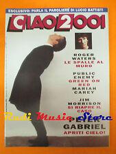 rivista CIAO 2001 44/1992 Peter Gabriel Jim Morrison Mariah Carey R.Waters No*cd