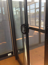 SLIDING DOOR | ALUMINIUM - DOUBLE GLAZED - 2110H X 1810W | white | Right lock