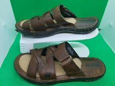Born Women's Brown Leather Sandals shoes Size 8