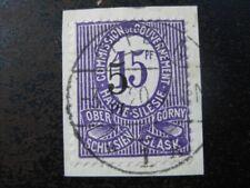 OBERSCHLESIEN UPPER SILESIA Mi. #10 F rare used stamp! CV $780.00