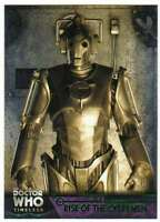 2016 Topps Doctor Who Timeless Green Foil Parallel #50 Rise of the Cybermen