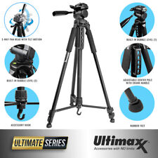 "75"" PROFESSIONAL LIGHTWEIGHT TRIPOD FOR CANON EOS REBEL 5D 6D 7D 60D 70D 80D T5"