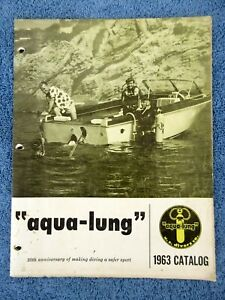 Vintage Scuba 1963 Catalog U. S. Divers AquaLung 20th Anniversary Calypso Camera