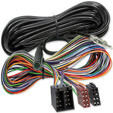 5m alargador set-ISO Radio Adaptador prórroga-din cable antena