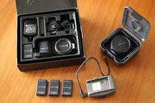 Blackmagic Pocket Cinema Camera + Metabones EF-BMPCC Speedbooster + Batt Adapter