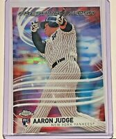 2017 RC Freshman Flash Insert Topps Chrome Rookie Aaron Judge  #FF-11 NY Yankees