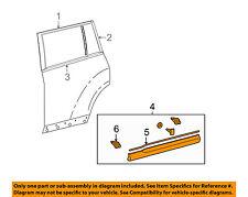 TOYOTA OEM 11-13 Highlander REAR DOOR-Body Side Molding Right 750750E050