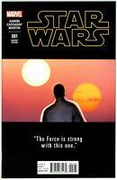 Star Wars (2015) #1C NM 9.4 1:25 Variant