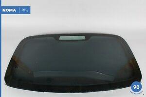 02-08 Jaguar X-Type X400 Rear Back Windshield Window Glass 1X43F42006DB OEM