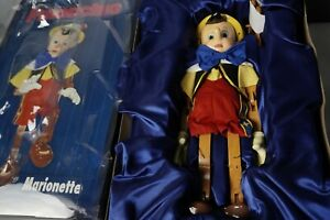 """DISNEY PINOCCHIO MARIONETTE MASTER REPLICAS PUPPET Limited Edition LIFE SIZE 18"""""""