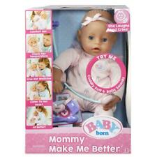 Zapf Baby Born - Mommy Make Me Better - Interactive Baby Doll - Laughs And Cries