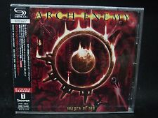 ARCH ENEMY Wages Of Sin + 2 JAPAN SHM CD Carcass King Diamond Witchery In Flames
