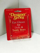 Designer Series Eye Glasses for Dolls & Teddy Bears No. 9175-14  NEW IN PACKAGE