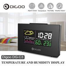 Digoo LCD Wireless Weather Forecast Station Thermometer Hygrometer+Alarm Clock