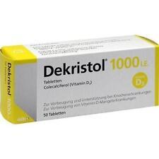 DEKRISTOL 1.000 I.E. Tabletten 50 St PZN 10068944