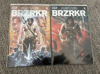 BRZRKR (BERZERKER) #1 GRAMPA FOIL VARIANT BOOM! KEANU REEVES w/ Coupon LOT 2
