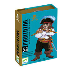 Piratatak card game - adventure and strategy game for Kids