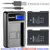 Kastar EN-EL14 for Nikon Coolpix P7000 P7100 P7700 P7800 D3100 D3200 D3300 D5100