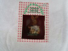 New ~1997 Cottontale Collection Hand Painted Bunny~Ro473C