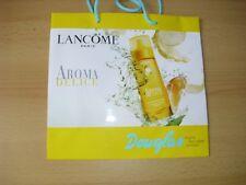 Einkaufstasche , Tragetasche v. Douglas m. Werbung v. LANCOME Aroma Delice