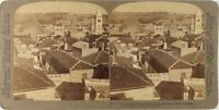 Gerusalemme Monte Dei Oliva Foto Stereo Vintage Analogica PL62L2n35