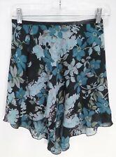 Trienawear TR300FL Womens Floral Print Georgette Ballet Dance Skirt P/S - NWT